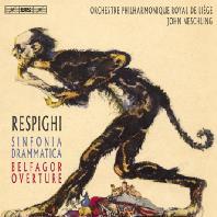 SINFONIA DRAMMATICA & BELFAGOR OVERTURE/ JOHN NESCHLING [SACD HYBRID] [레스피기: 극적 교향곡, 벨파고르 서곡]