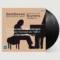PIANO CONCERTO NO.5 & SYMPHONY NO.3/ ARTURO BENEDETTI MICHELANGELI, SERGIU CELIBIDACHE [180G LP] [베토벤: 피아노 협주곡 5번 & 브람스: 교향곡 3번 - 미켈란젤리 & 첼리비다케] [한정반]