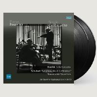 CELLO CONCERTO, SYMPHONY NO.8 'UNFINISHED' & ROSAMUNDE OUVERTURE/ PIERRE FOURNIER, SERGIU CELIBIDACHE [180G LP] [드보르작: 첼로 협주곡 & 슈베르트: 교향곡 외 - 푸르니에 & 첼리비다케] [한정반]