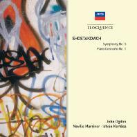 SYMPHONY NO.5 & PIANO CONCERTO NO.1/ JOHN OGDON, ISTVAN KERTESZ, NEVILLE MARRINER [쇼스타코비치 교향곡 5번 & 피아노 협주곡 1번]