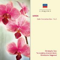CELLO CONCERTOS NOS.1 & 2/ CHRISTOPHE COIN, CHRISTOPHER HOGWOOD [하이든: 첼로 협주곡 1,2번 - 코인 & 호그우드]