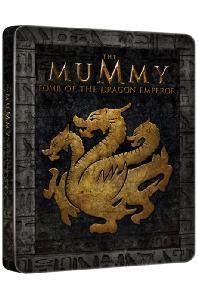 미이라 3: 황제의무덤 [스틸북 한정판] [THE MUMMY: TOMB OF THE DRAGON EMPEROR]