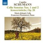 CELLO SONATAS NOS.1 AND 2/ MARIA KLIEGEL, FRANCESCO PIEMONTESI