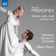 ROMEO AND JULIET: COMPLETE BALLET/ MARIN ALSOP [프로코피에프: 발레음악 <로미오와 줄리엣>(4막 전곡, 1939년 개정판) - 마린 알솝]