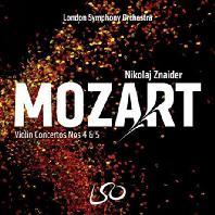 VIOLIN CONCERTOS NOS.4 & 5/ NIKOLAJ ZNAIDER [SACD HYBRID] [모차르트: 바이올린 협주곡 4번 & 5번 - 니콜라이 즈나이더]