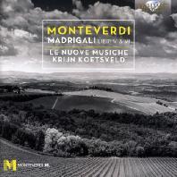 MADRIGALI BOOK 4 & 5/ LE NUOVE MUSICHE, KRIJN KOETSVELD [몬테베르디: 마드리갈 곡집 4, 5권]