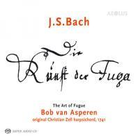 DIE KUNST DER FUGE: THE ART OF FUGUE/ BOB VAN ASPEREN [SACD HYBRID] [바흐: 푸가의 기법 - 봅 반 아스페렌]