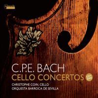 CELLO CONCERTOS/ CHRISTOPHE COIN [CD+DVD] [C.P.E.바흐: 첼로 협주곡집 - 크리스토프 코앵]
