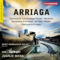 ORCHESTRAL WORKS/ JUANJO MENA [아리아가: 교향곡, 칸타타 <에르미니> 외]