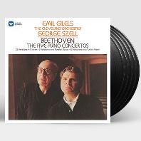 THE 5 PIANO CONCERTOS & VARIATIONS/ EMIL GILELS, GEORGE SZELL [베토벤: 피아노 협주곡 전곡 & 변주곡 - 에밀 길렐스, 조지 셀] [LP]