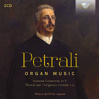 ORGAN MUSIC/ PAOLO BOTTINI [페트랄리: 장엄 미사, 오르간 연습곡 - 파올로 보티니]
