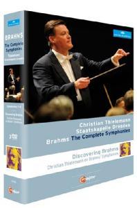 THE COMPLETE SYMPHONIES & DISCOVERING <!HS>BRAHMS<!HE>/ CHRISTIAN THIELEMANN [브람스: 교향곡 전집 & 다큐멘터리]