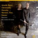 VARIOUS - SONATAS FOR CLARINET & PIANO/ RONALD VAN SPAENDONCK