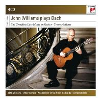 PLAYS BACH: THE COMPLETE LUTE MUSIC ON GUITAR TRANSCRIPTIONS [SONY MASTERS] [존 윌리암스가 연주하는 바흐]