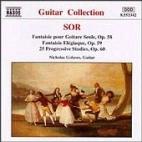 GUITAR MUSIC OP58.59.60