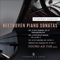 PIANO SONATAS & RONDO/ YOUNG-AH TAK [베토벤: 피아노 소나타 6, 18, 23(열정), 론도 - 탁영아]