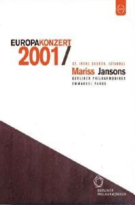 EUROPA KONZERT 2001/ <!HS>MARISS<!HE> JANSONS [2001년 유로파 콘서트 - 베를린 필, 얀손스]