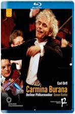 CARMINA BURANA/ <!HS>SIMON<!HE> RATTLE [오르프: 카르미나 부라나 & 베토벤: 레오노레서곡 3번 - 베를린 필 2004년 송년음악회]