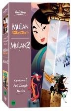 뮬란+뮬란 2 [MULAN+MULAN 2] [08년 10월 월트 프린세스2팩 행사] / [2disc]