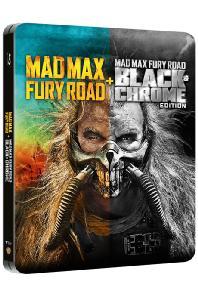 매드맥스: 분노의 도로 [블랙&크롬 에디션] [스틸북 한정판] [MAD MAX: FURY ROAD]