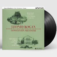 VIOLIN CONCERTOS/ CONSTANTIN SILVESTRI, LEONID KOGAN [모차르트: 바이올린 협주곡 5번 & 멘델스존: 바이올린 협주곡 - 코간, 실베스트리] [LP]