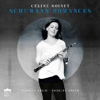 SCHUMANN ROMANCES/ CELINE MOINET [슈만: 오보에와 피아노를 위한 3곡의 로망스 & 클라라 슈만: 3곡의 로망스, 트로이메라이 외 - 셀린 모이네]