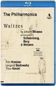 WALTZES: ARRANGED BY SCHOENBERG, BERG & WEBERN/ THE PHILHARMONICS [빈 카페 음악회: 신 빈악파가 편곡한 왈츠들] [블루레이 전용플레이어 사용]