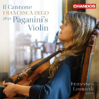 IL CANNONE: FRANCESCA DEGO PLAYS PAGANINI`S VIOLIN/ FRANCESCA LEONARDI [일 카노네: 파가니니의 바이올린 - 프란체스카 데고]