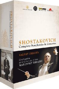 COMPLETE SYMPHONIES & CONCERTOS/ VALERY GERGIEV [쇼스타코비치 사이클: 교향곡 & 협주곡 전곡]