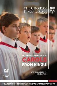 CAROLS FROM KING'S: 60TH ANNIVERSARY EDITION/ STEPHEN CLEOBURY [킹스 칼리지 합창단: 캐롤 모음집]