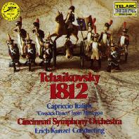 1812 OVERTURE & CAPRICCIO ITALIEN/ ERICH KUNZEL [차이코프스키: 1812년 서곡 - 쿤젤]