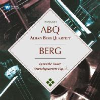 LYRIC SUITE & STRING QUARTET OP.3/ ALBAN BERG QUARTETT [ORIGINAL JACKET] [베르크: 서정모음곡, 현악 사중주]