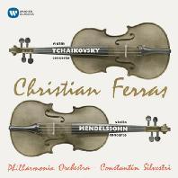 VIOLIN CONCERTOS/ ITZHAK PERLMAN, EUGENE ORMANDY [ORIGINAL JACKET] [차이코프스키 & 멘델스존: 바이올린 협주곡]