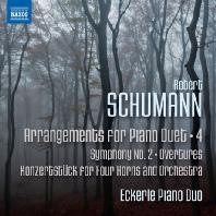 ARRANGEMENTS FOR PIANO DUET 4/ ECKERLE PIANO DUO [슈만: 피아노 듀오를 위한 편곡 4집 - 에케를 피아노 듀오]