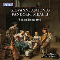 SONATE ROMA 1669/ FABRIZIO LONGO [판돌피 메알리: 발레 소나타 - 파브리치오 롱고]