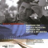 RHAPSODY FOR CELLO & ORCHESTRA/ JOHN CAREWE