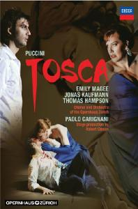 TOSCA/ <!HS>JONAS<!HE> KAUFMANN, PAOLO CARIGNANI [요나스 카우프만: 푸치니 토스카]