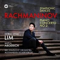 RACHMANINOV PIANO CONCERTO NO.2, SYMPHNIC DANCES/ MARTHA ARGERICH, ALEXANDER VEDERNIKOV [라흐마니노프: 피아노 협주곡 2번 & 교향적 무곡 - 아르헤리치, 베데르니코프]