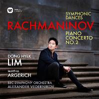 RACHMANINOV PIANO CONCERTO NO.2, SYMPHNIC DANCES/ MARTHA ARGERICH, ALEXANDER VEDERNIKOV [라흐마니노프: 피아노 협주곡 2번 & 교향적 무곡 - 아르헤리치, 베데르니코프]
