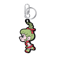 LOVES GOOD LUCK TROLLS - RUBBER KEYRING [JOY(조이) TROLL VER]