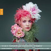 CONCERTI PER VIOLINO 8: IL TEATRO/ JULIEN CHAUVIN [비발디: 바이올린 협주곡 8집: 테아트로 - 줄리앙 쇼뱅]