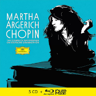 CHOPIN THE COMPLETE RECORDINGS ON DEUTSCHE GRAMMOPHON [5CD+BDA] [마르타 아르헤리치: 쇼팽 녹음]