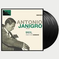 BACH: SUITES FOR SOLO CELLO (COMPLETE) [180G LP] [안토니오 야니그로: 바흐 무반주 첼로 전집] [한정반]