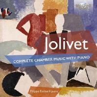 COMPLETE CHAMBER MUSIC WITH PIANO/ FILIPPO FARINELLI [졸리베: 피아노 실내악 전곡집 - 필리포 파리넬리]