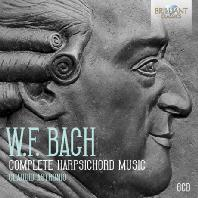 COMPLETE HARPSICHORD MUSIC/ CLAUDIO ASTRONIO [빌헬름 프리드만 바흐: 하프시코드 음악 전곡집 - 클라우디오 아스트로니오]