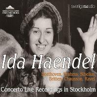 CONCERTO LIVE RECORDINGS IN STOCKHOLM [이다 헨델: 바이올린 협주곡집]