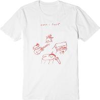 아시아/호주 투어 티셔츠 [화이트_S]