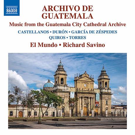 과테말라 시티 성당 아카이브의 음악 작품집