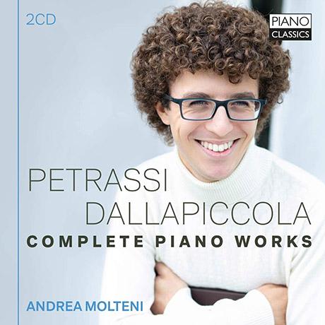 COMPLETE PIANO WORKS/ ANDREA MOLTENI [페트라시 & 달라피콜라: 피아노 작품 전곡 - 안드레아 몰테니]