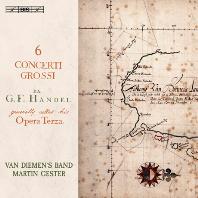 6 CONCERTI GROSSI/ VAN DIEMEN'S BAND, MARTIN GESTER [SACD HYBRID] [헨델: 6개의 합주 협주곡]